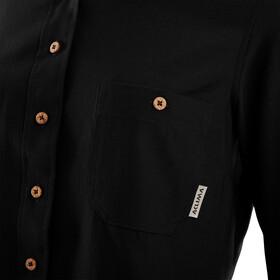 Aclima Woven Wool T-shirt Femme, jet black